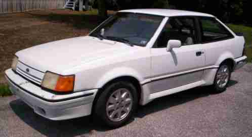 Ford Escort GT 1988, I bought the in 2005 w/ just under 80, 000 original