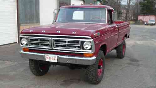 ford f 250 f250 1972 highboy 4x4 restoration pictures available upon. Black Bedroom Furniture Sets. Home Design Ideas