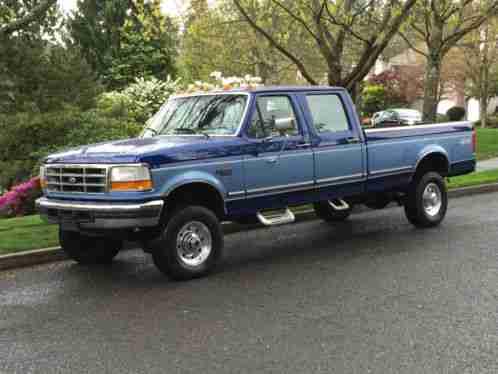 ford f 350 ford f250 f350 diesel 7 3l 4x4 crew cab 4dr 1997 for. Black Bedroom Furniture Sets. Home Design Ideas