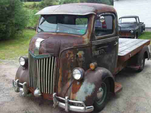 Ford Other Coe 1941 Up For Auction Is Truck That Rolls On