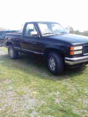 gmc sierra 1500 1994 i have a z71 with flare side bed 175k miles it. Black Bedroom Furniture Sets. Home Design Ideas