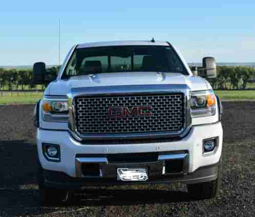 gmc sierra 3500 denali 2015 for sale summit white exterior with. Black Bedroom Furniture Sets. Home Design Ideas