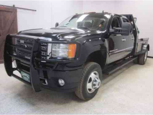 6 Door Truck For Sale Used >> GMC Sierra 3500 Denali Crew Cab Flatbed Truck 2014, 4x4 Automatic