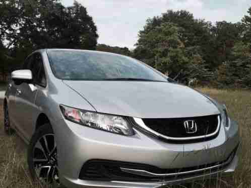 Honda Civic 4dr Cvt Ex 2014 2016 Odometer 3 Fuel Gas