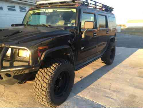 hummer h2 2003 37 bfg tires with 20 off road wheels rancho 9000xl. Black Bedroom Furniture Sets. Home Design Ideas
