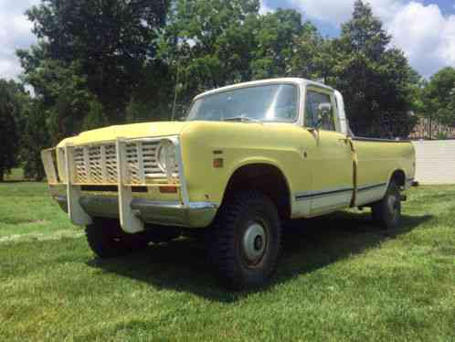 Ford Shelby Truck >> International Harvester 200 3/4 Ton Pickup 1974, Truck Up ...