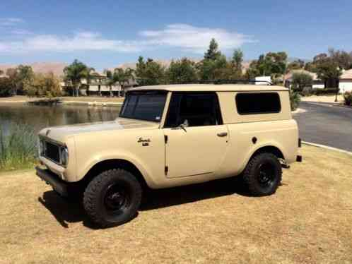 International Harvester Scout 800 1967 Hello For Sale Is
