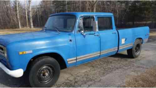 international harvester travelette 1970 for sale 4 door pickup truck. Black Bedroom Furniture Sets. Home Design Ideas