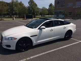 jaguar xj xjl supercharged 2011 l 53k white exterior ivory and. Black Bedroom Furniture Sets. Home Design Ideas