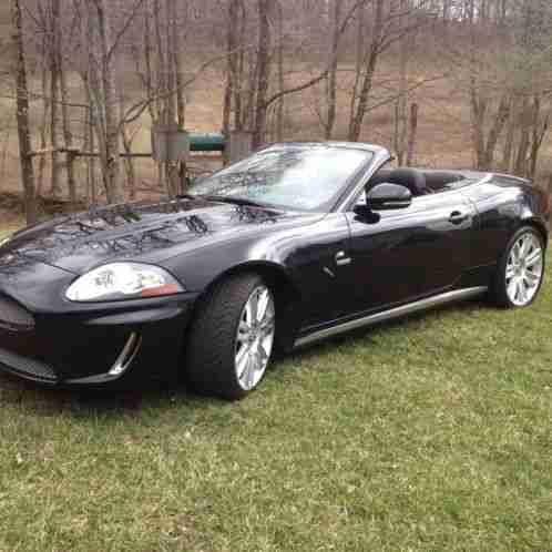 jaguar xkr 2010 510 hp 5 ol sc v8 engine 6 speed automatic car for sale. Black Bedroom Furniture Sets. Home Design Ideas