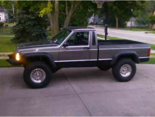 jeep comanche truck 1988 has had a full restoration from ground up the. Black Bedroom Furniture Sets. Home Design Ideas