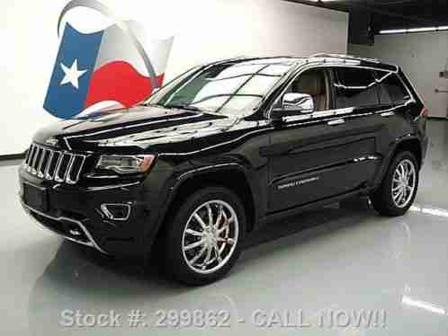 jeep grand cherokee overland 4x4 eco diesel nav 2014 condition car for sale. Black Bedroom Furniture Sets. Home Design Ideas