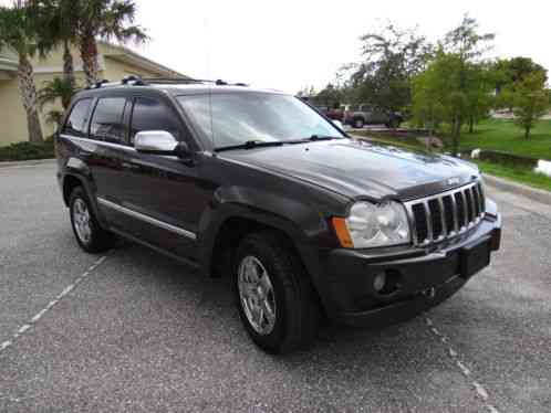 jeep grand cherokee overland 4wd hemi 5 7 florida car 2006 4x4 v8 l. Black Bedroom Furniture Sets. Home Design Ideas