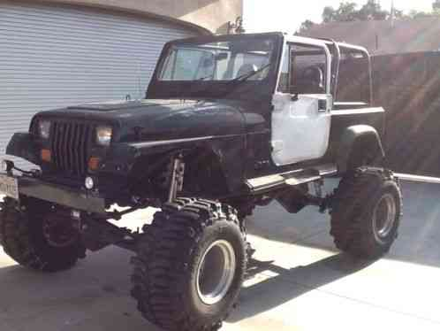 jeep wrangler 1987 yj lifted 4inch leaf springs and. Black Bedroom Furniture Sets. Home Design Ideas