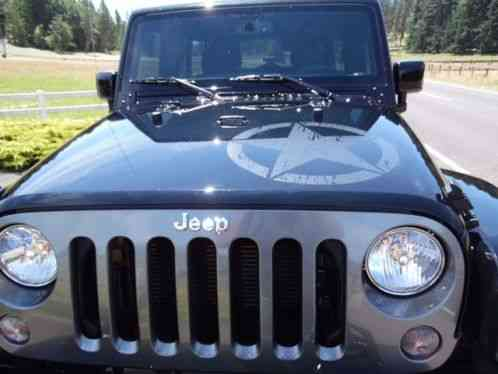 Jeep Wrangler Oscar Mike Edition 2015 Unlimited 4 Door