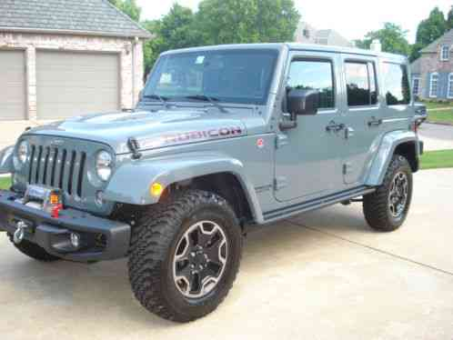 jeep wrangler rubicon hard rock 4 x 4 2015 2015 unlimited. Black Bedroom Furniture Sets. Home Design Ideas