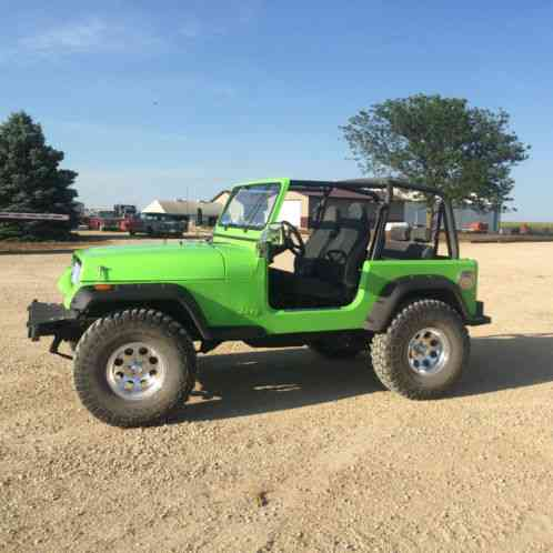 jeep wrangler 1992 for sale motor is a 4 5 stroker has a reman 5. Black Bedroom Furniture Sets. Home Design Ideas