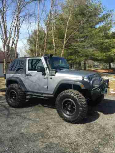 Willys Jeep For Sale >> Jeep Wrangler Sport 2013, 2 door, 6 cyc auto, ASV lift kit, Rugged Ridge