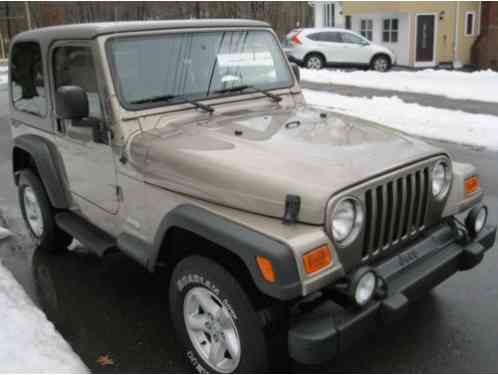 Jeep Wrangler Sport 2003 Only 95k Miles 4 0l 6 Cyl