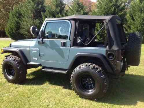 Jeep Wrangler 1999 99 Tj 175k Lifted 4 Inches Has 5