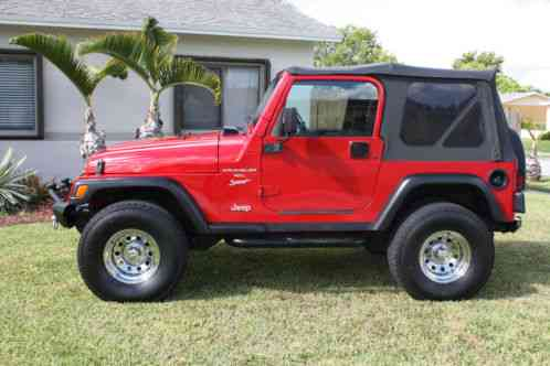 jeep wrangler tj 2001 up for auction is a sport soft top 6 speed. Black Bedroom Furniture Sets. Home Design Ideas