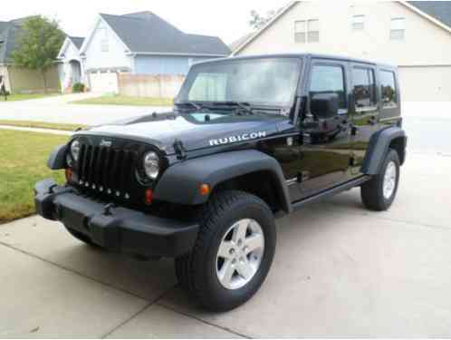 Jeep wrangler 2009 rubicon unlimited 4wd for sale this for 07 4 door jeep wrangler for sale