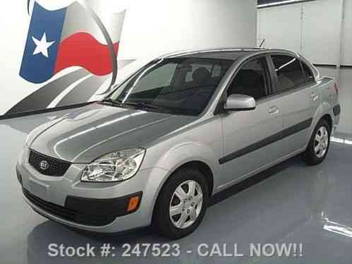 Kia rio lx sedan auto cd audio air conditioning 2007 condition car