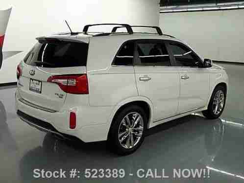 kia sorento sxl v6 gdi pano roof leather nav 18k 2014 condition. Black Bedroom Furniture Sets. Home Design Ideas