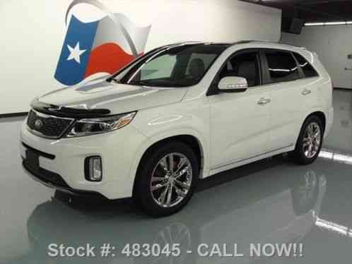 kia sorento sx l v6 gdi pano roof nav rear cam 2014 26k at texas direct. Black Bedroom Furniture Sets. Home Design Ideas