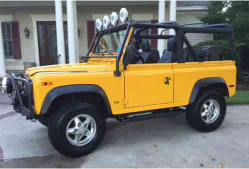 land rover defender defender 90 nas 1995 awesome vehicle i have. Black Bedroom Furniture Sets. Home Design Ideas