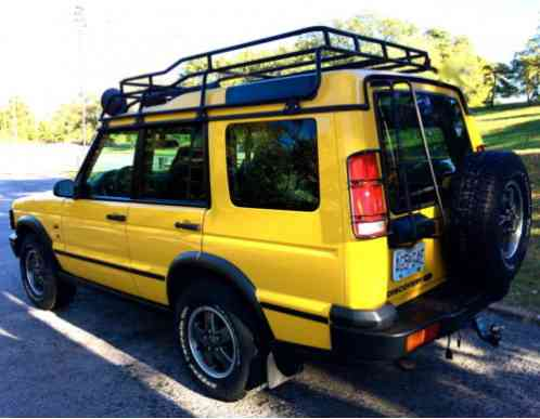 Land Rover Discovery 2002, Kalahari Edition Borrego Yellow ...
