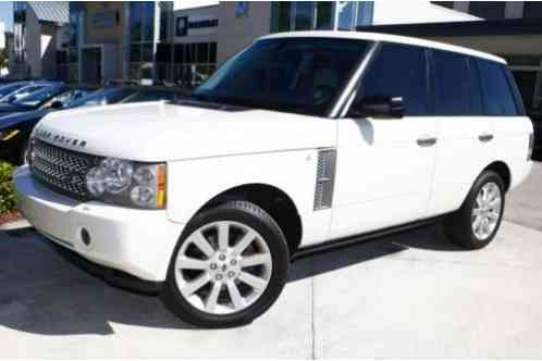 Land Rover Range Rover Hse 2008 Luxury 239 659 6718