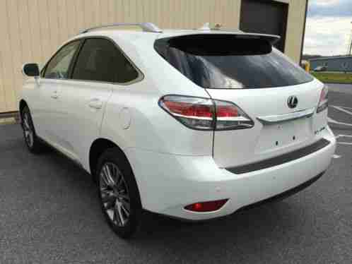 Lexus Rx 2013 Suv Does Not Have Any Dings Scratches Or