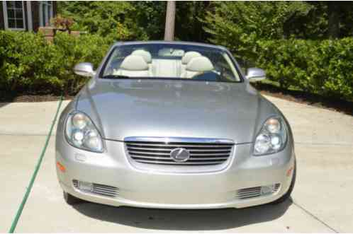 Lexus Sc 430 2005 The Car Has Just Been Serviced By The