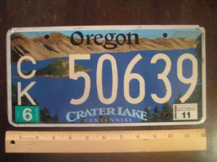 1937 Oregon Original Pair Of License Plates 197 995