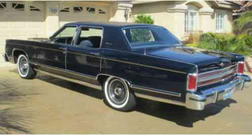 Lincoln Continental 1979 Collector S Series In Midnight