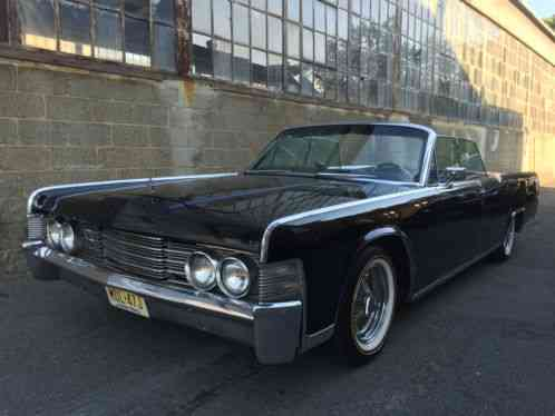 lincoln continental 1965 convertible clean title same. Black Bedroom Furniture Sets. Home Design Ideas