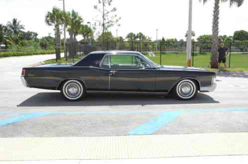 lincoln continental 1968 coupe very rare car and. Black Bedroom Furniture Sets. Home Design Ideas