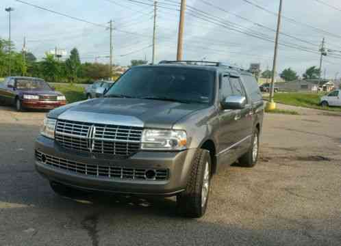 lincoln navigator 2012 7 pass sunroof climate leather car for sale. Black Bedroom Furniture Sets. Home Design Ideas