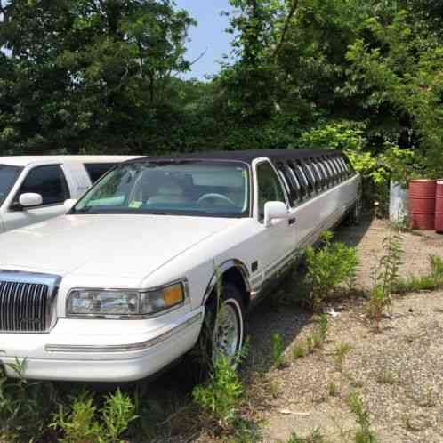 lincoln town car 1998 1995 limousine 140 stretch was. Black Bedroom Furniture Sets. Home Design Ideas