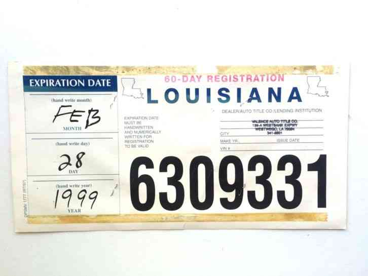 Old Alabama Car Tags For Sale