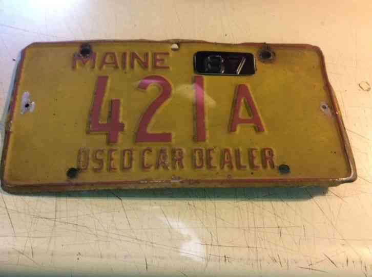 Used Car Dealer License Maryland