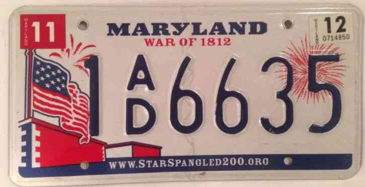 New Rhode Island Fireworks License Plate