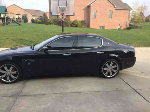 maserati quattroporte sport gt 2007 for sale is this that s in amazing. Black Bedroom Furniture Sets. Home Design Ideas