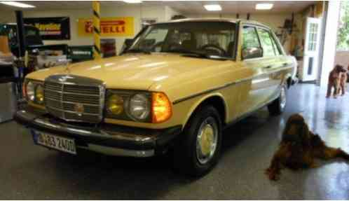 Mercedes benz 200 series 1983 this is what i ve done to for Smythe european mercedes benz
