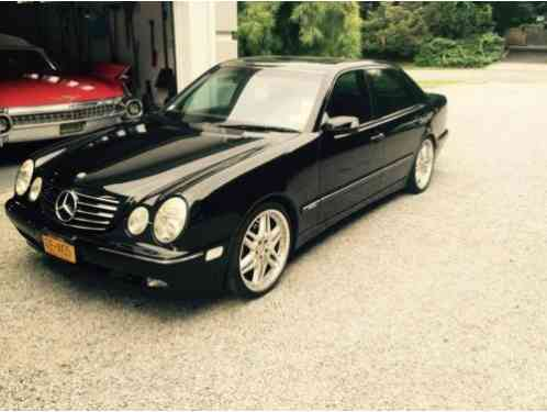 Mercedes Benz E Class Amg 2000 This Is A Truly