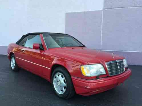 Mercedes benz e class e320 1995 mercedes benz cabriolet for Mercedes benz e class 1995