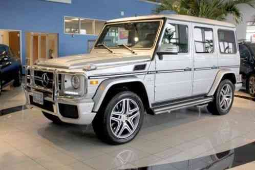 Mercedes Benz G Class G63 2015 Loaded 1312 Miles 526