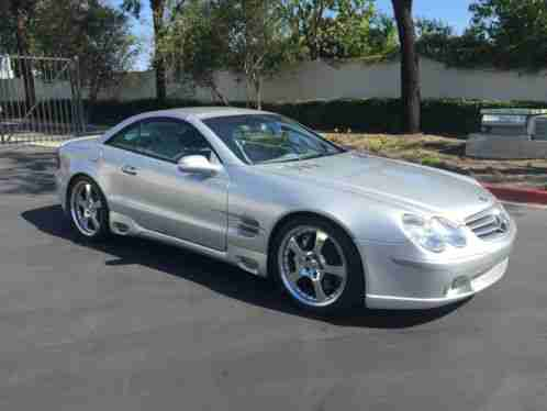 Mercedes benz sl class sl55 amg kompressor 2003 make for 2003 mercedes benz sl55