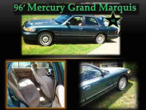mercury grand marquis ls 1996 i am selling a green marqui. Black Bedroom Furniture Sets. Home Design Ideas
